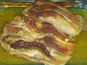 Receita fácil de lombo de porco com mostarda