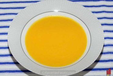 receita fácil de sopa de cenoura