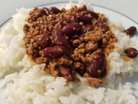 Receita fácil de chili com carne