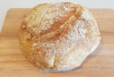 Receita de Pão Rustico