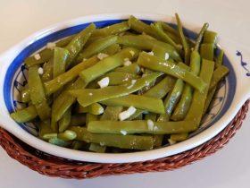 receita fácil de Feijão Verde com Alho