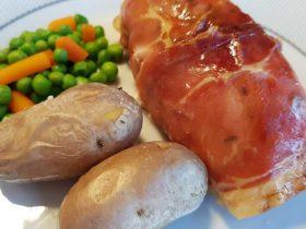 receita de peito de frango recheado com tomate e presunto