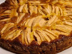Receita fácil de tarte de maça