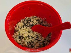 receita facil de arroz no micro-ondas